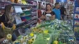 Produtos da copa têm aumento de vendas no comércio de Bauru