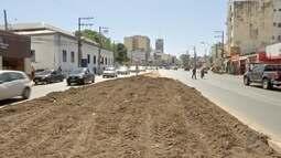 Jardins serão plantados nos canteiros do VLT em Cuiabá