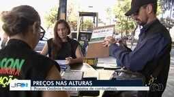 Procon investiga se postos de combustíveis cobram preços abusivos em Goiânia