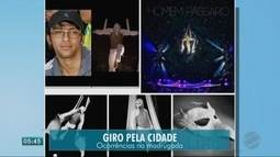 Corpo de trapezista vai ser levado para Belo Horizonte