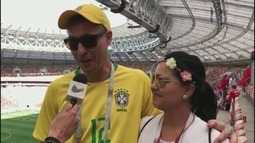 'Tô na Rússia': Confira opinião de torcedores da região sobre jogo de Portugal e Marrocos