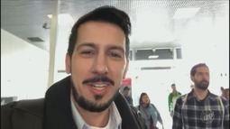 Repórter da EPTV acompanha expectativa da partida entre Brasil e Costa Rica