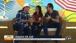 Durval Lelys e Felipe Pezzoni, da Banda Eva, se apresentam em Goiânia