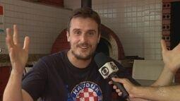 'Único' croata em Manaus admite que ficha ainda não caiu com final inédita da Copa