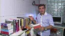 Quadro Biodicas mostra como limpar livros