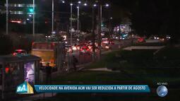 Avenida ACM vai sofrer mudanças por causa de obras do BRT a partir do mês de agosto