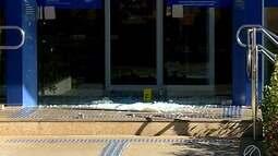 Duas agências bancárias são atacadas por criminosos em Nova Ponte