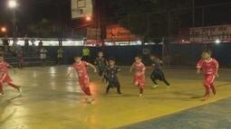 Veja como foi a abertura do Estadual de Futsal Sub-7