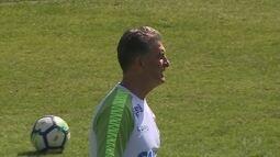 Clássico com o Cruzeiro marca a reestreia de Ricardo Drubscky como técnico do América-MG