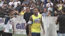 Jogadores de diversos países participam de nova edição do Neymar's Five
