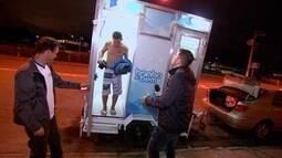 """""""Banho do Bem"""", um projeto solidário que ajuda moradores de rua"""