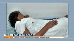 Famílias sofrem para conseguir vaga para pacientes em hospitais da rede pública