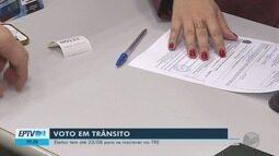 Prazo para transferência temporária de seção para Eleições acaba em 10 dias