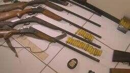 Polícia prende suspeitos e apreende armas na operação Dejavu, no sudoeste do Pará