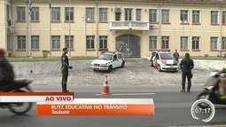 Taubaté realiza ações educativas sobre o trânsito