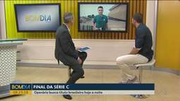 """Futebol: Tem rodada decisiva pela série """"C"""" do brasileirão"""
