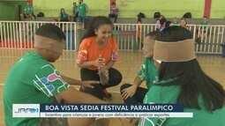 IFRR sedia 'Festival Paralímpico' em Boa Vista