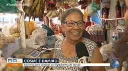 BMD na feira: confira os preços dos ingredientes para o caruru de São Cosme e São Damião