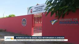 Prazo de retorno de internos do CSE encerra e jovens continuam em prédio público de BVA