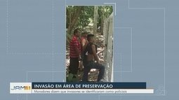 Moradores da Zona Norte de Manaus denunciam invasão de área de preservação