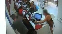 Vendedor é agredido após cliente discordar com cancelamento de telefone em São Vicente