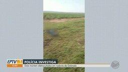 Casal morre e um fica ferido em tentativa de furto de cabos de alta tensão em Dobrada, SP