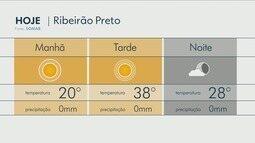 Confira a previsão do tempo para esta terça-feira (25) na região de Ribeirão Preto