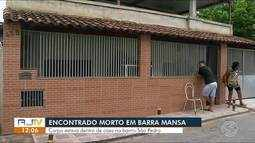 Idoso é encontrado morto dentro de casa em Barra Mansa, RJ