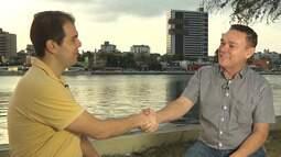 Bloco 3 Amazan e Rafael Poeta compõem uma música para Campina Grande