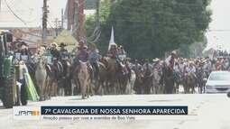 Cavalgada celebra o Dia de Nossa Senhora Aparecida em Roraima