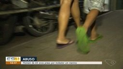 Homem é preso suspeito de molestar criança em Cariacica