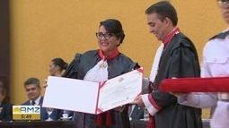 Nova procuradora chefe do MP-AM toma posse em Manaus