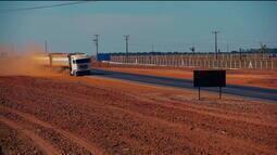 Produtores de grãos aguardam construção de ferrovia que ligaria Mato Grosso ao Pará