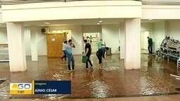 Chuvas causam estragos em várias partes de Goiás