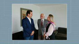 Cida Borghetti e Ratinho Junior fazem reunião de transição do governo do Estado