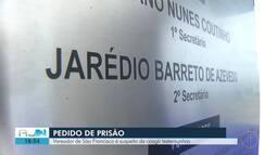 TRE pede prisão de vereador de São Francisco de Itabapoana, no RJ