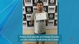 Polícia Civil prende em MS um dos maiores traficantes de Cuiabá
