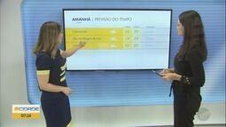Temperatura máxima em Campinas será de 25 ºC nesta sexta e pode ter chuva fraca
