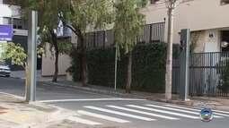 Instalação de novos semáforos interdita trânsito em Rio Preto