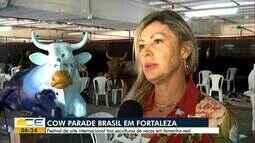 Festival Cow Parade Brasil chega até Fortaleza reunindo peças nacionais e internacionais