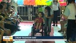 Crianças do Centro de reabilitação do AP participam de desfile