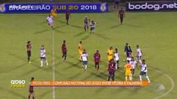 Time sub-20 do Vitória perde 1ª partida da disputa pelo título da Campeonato Brasileiro