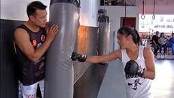 Mogiana de 15 anos trilha caminho rumo ao MMA