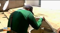 Agentes de endemias fizeram ação de combate ao aedes aegypti no distrito de rajada