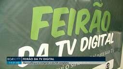 Até domingo tem feirão da tv digital, em Cascavel