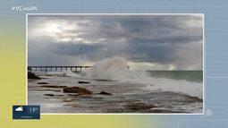 Confira a previsão do tempo desta segunda (22); veja também as fotos do amanhecer