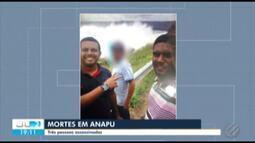 Três pessoas são assassinadas em Anapu, no sudoeste do Pará, no fim de semana