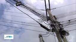 Moradores relatam furtos de cabos de cobre em Goiânia