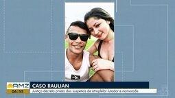Suspeitos de atropelarem lutador e namorada têm prisões decretadas, no AP