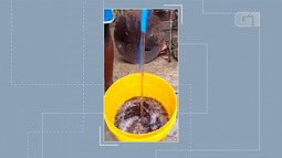 Morador denuncia receber água escura na torneira de casa em Terra Nova